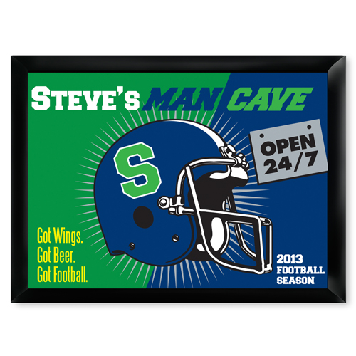 Open 24-7 Man Cave Pub Sign