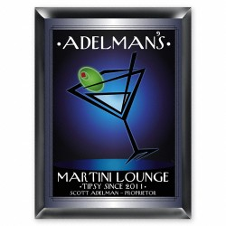 """Personalized """"After Hours"""" Martini Lounge Sign"""