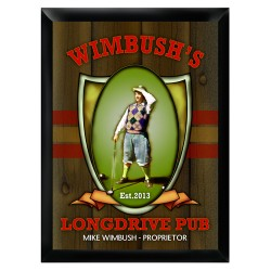 Personalized Longdrive Pub Sign
