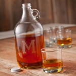 Personalized Whiskey Growler