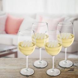 Personalized White Wine Quartet