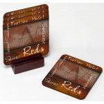 Personalized Wine Coaster Set